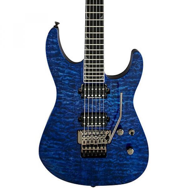Jackson Pro Soloist - SL2Q MAH Electric Guitar Transparent Blue