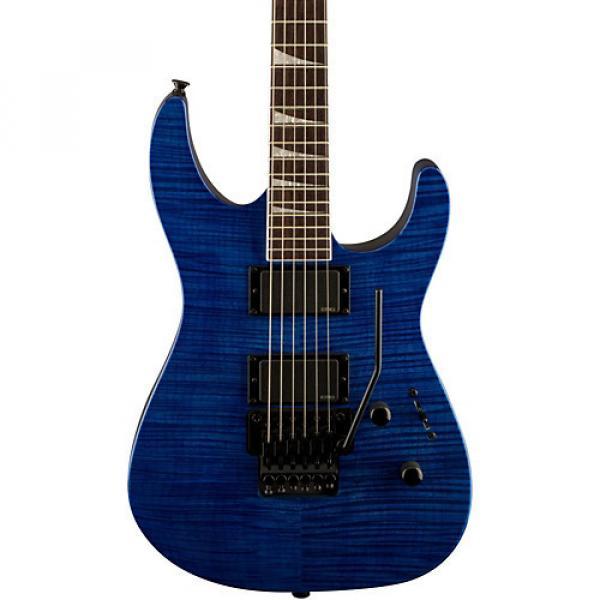 Jackson SLXFMG Electric Guitar Transparent Blue