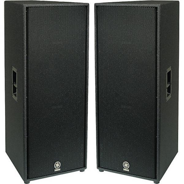 """Yamaha C215V Dual 15"""" 2-Way Club Speaker Pair"""