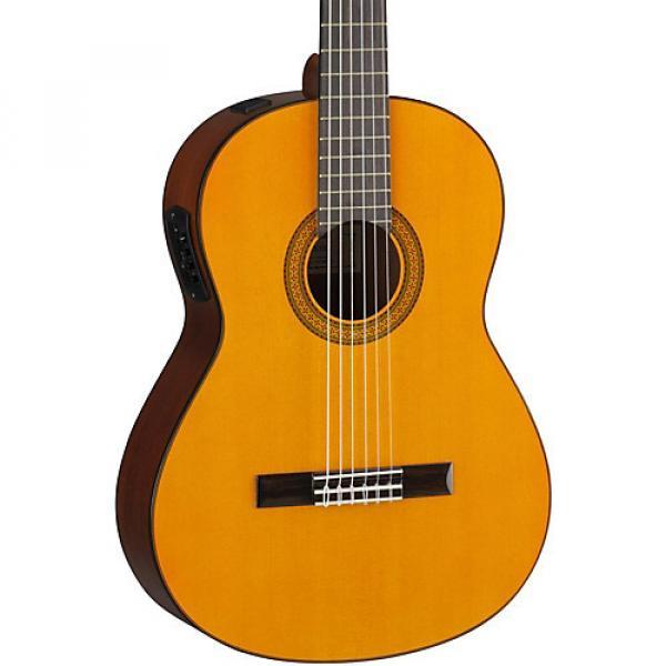 Yamaha CGX102 Acoustic-Electric Classical Guitar Natural