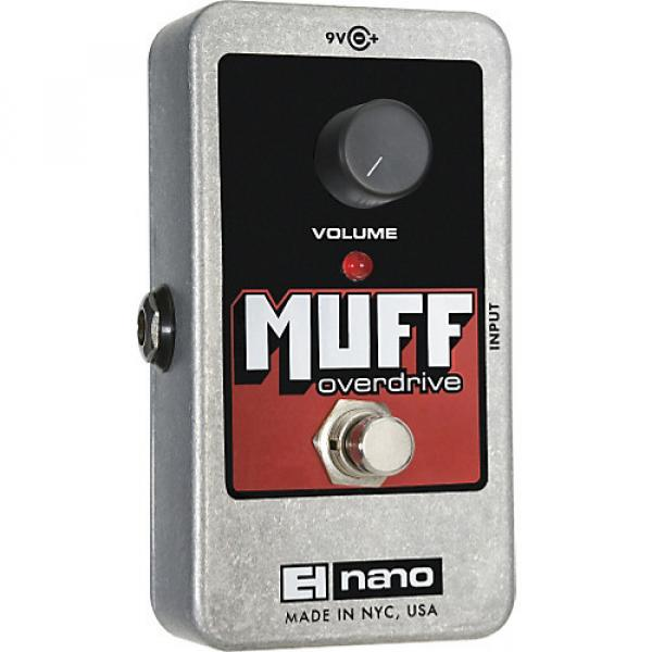 Electro-Harmonix Nano Muff Overdrive Guitar Effects Pedal