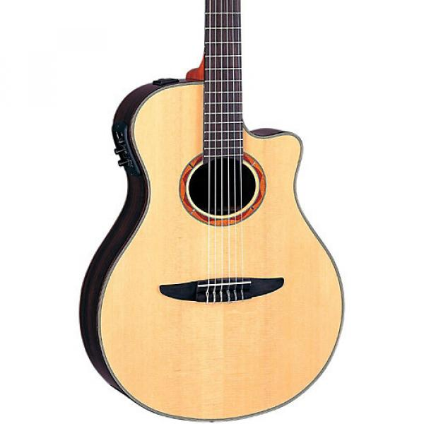 Yamaha NTX1200R Acoustic-Electric Classical Guitar Natural