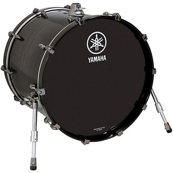 Yamaha Live Custom Bass Drum 18 x 14 in. Black Wood