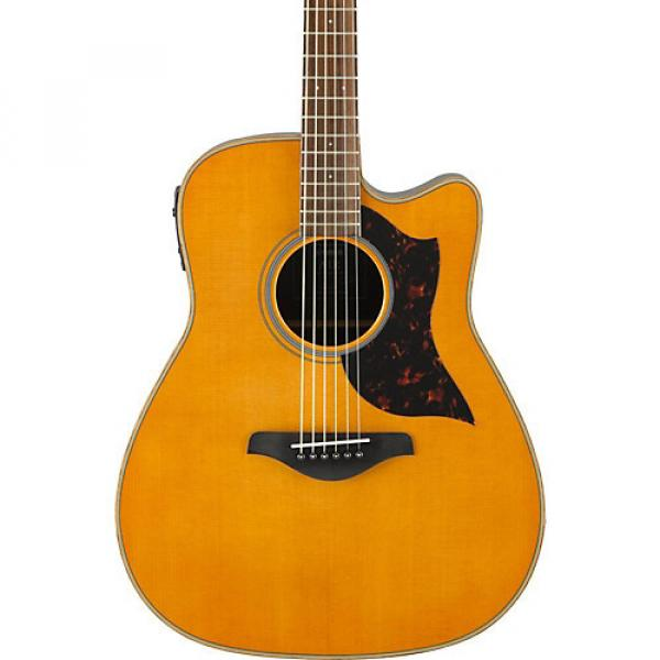 Yamaha A-Series A1R Cutaway Dreadnought Acoustic-Electric Guitar Vintage Natural