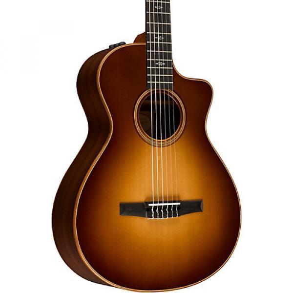 Chaylor 700 Series 712ce-N Grand Concert Acoustic-Electric Nylon String Guitar Western Sunburst