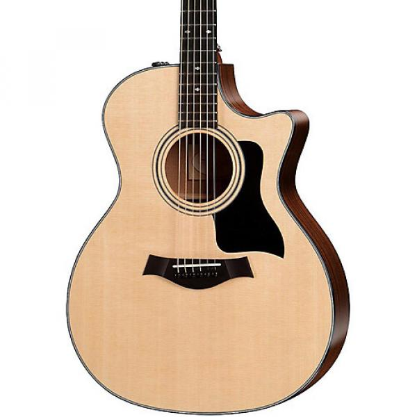 Chaylor 300 Series 314ce Grand Auditorium Acoustic-Electric Guitar Natural