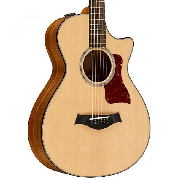 Chaylor Limited Edition 412ce 12-Fret Grand Concert Acoustic-Electric Guitar Natural