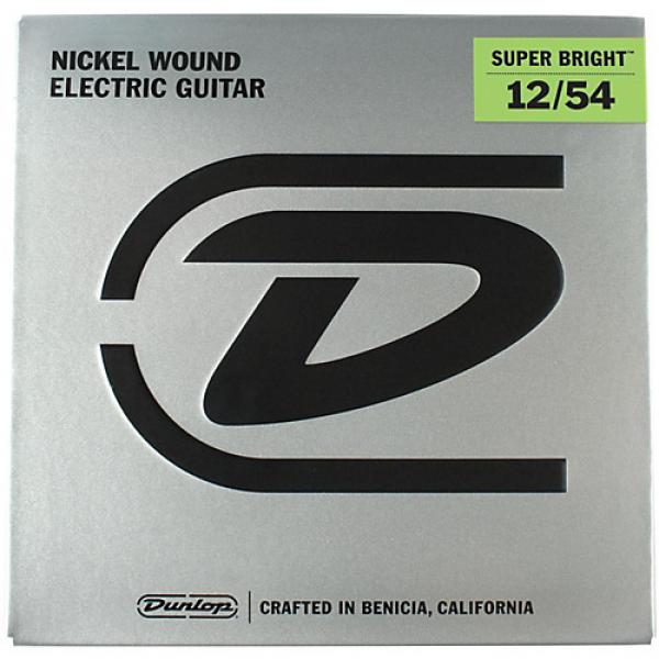 Dunlop Super Bright Heavy Nickel Wound Electric Guitar Strings (12-54)