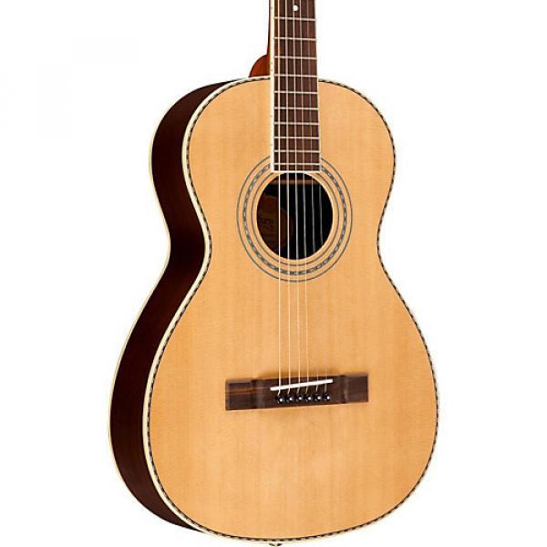 Washburn WP24SNS Traditional Parlor Acoustic Guitar Natural
