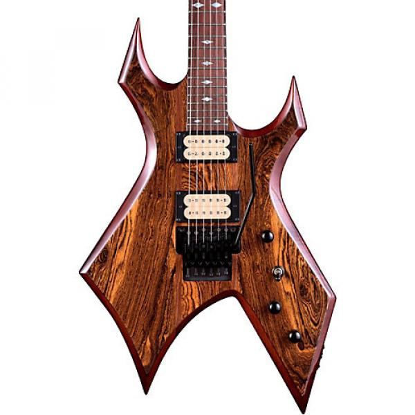 B.C. Rich Warlock Neck Through with Floyd Rose and Dimarzios Electric Guitar Gloss Natural