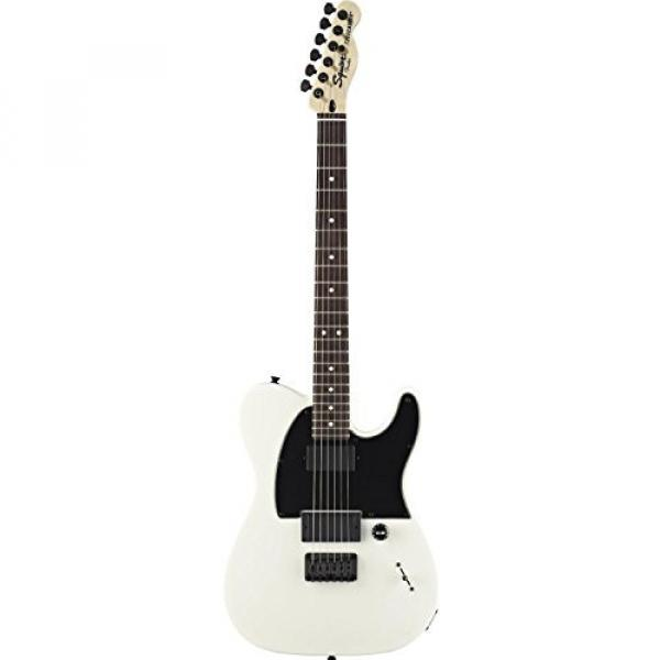 Squier by Fender Jim Root Telecaster Electric Guitar- Flat White - Rosewood Fingerboard