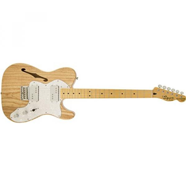 Squier by Fender Vintage Modified '72 Telecaster Electric Guitar Thinline - Natural - Maple Fingerboard