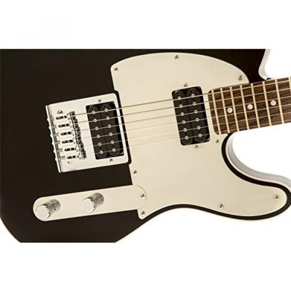 Squier by Fender John 5 Telecaster Electric Guitar, Black