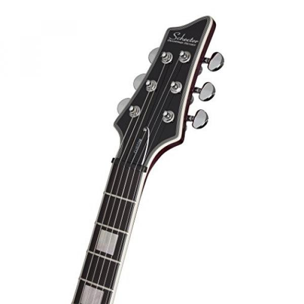 Schecter V-1 Custom Solid-Body Electric Guitar, TPUR