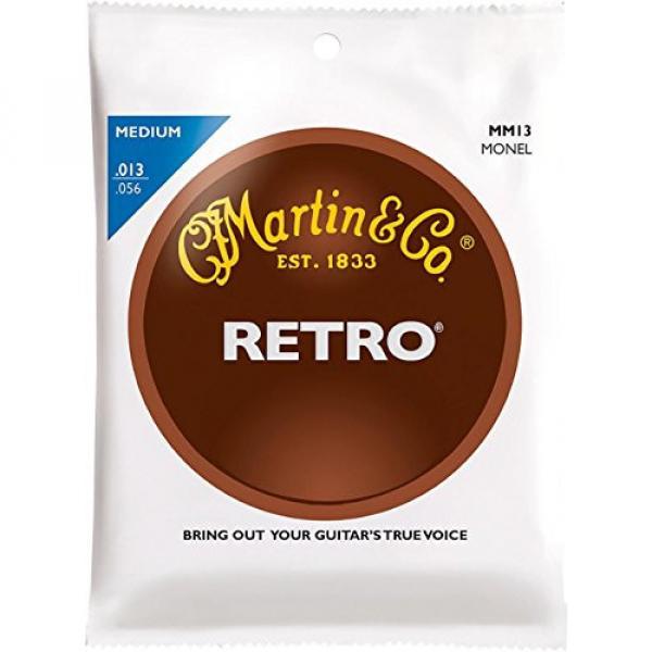 Martin Retro Acoustic Guitar Strings Medium Gauge