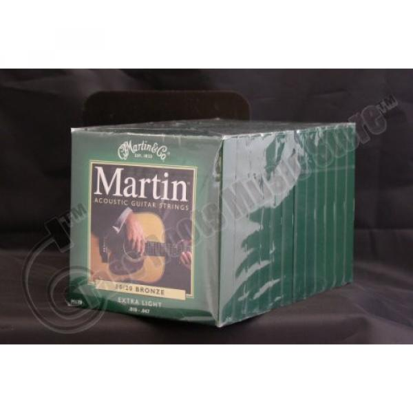 Bulk 12 Sets, Martin, Acoustic Guitar Strings, Extra Light, 80/20 Bronze, M170