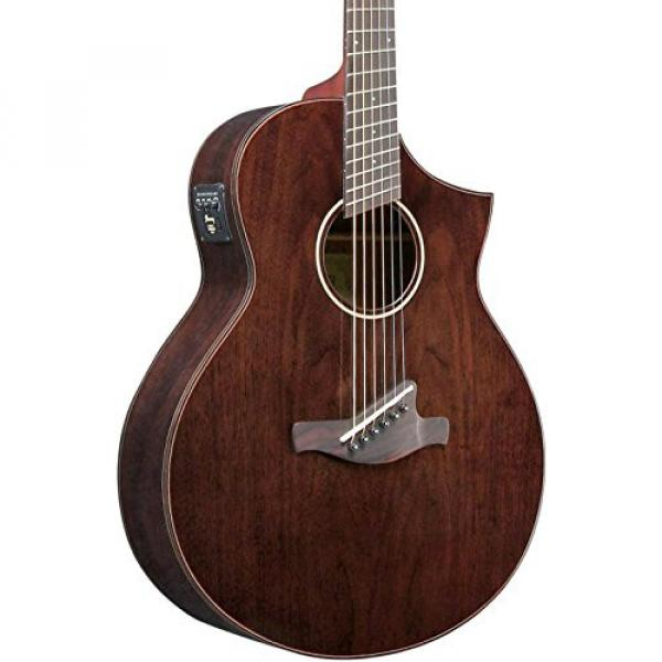 Ibanez AEW40FFCDNT Walnut Multi-Scale Acousitc-Electric Guitar Gloss Natural