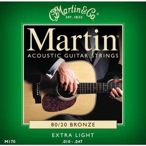 Sets - Martin M170 Acoustic Guitar Strings Extra Light 80/20 Bronze