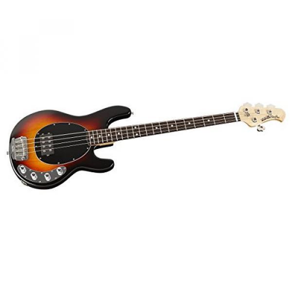 Ernie Ball Music Man StingRay 4-String Electric Bass Guitar Vintage Sunburst Rosewood Fretboard