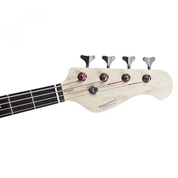 Monoprice 610700 Bourbon Street Jam Electric Bass Guitar - Black