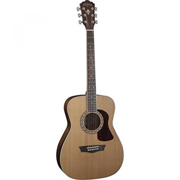 Washburn Heritage Series Acoustic Folk Guitar Natural