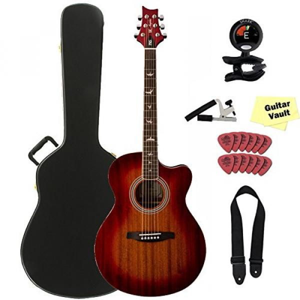 PRS Angelus A10E Cherry Sunburst Acoustic Electric Guitar with Accessory Kit and PRS Hard Case