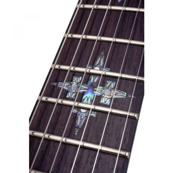 Schecter Damien Elite FR Electric Guitar Left Handed - Crimson Red