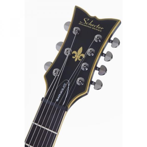 Schecter BLACKJACK ATX SOLO-7 Special Edition 6-String Electric Guitar, Aged Black Satin