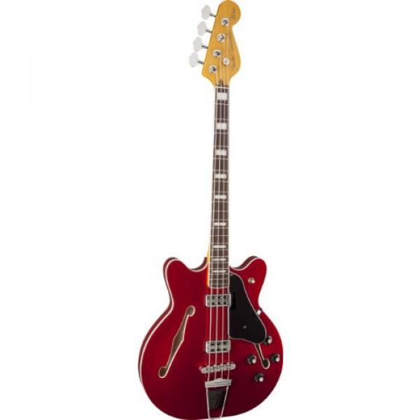 Fender Modern Player Coronado Bass, RW, Candy Apple Red