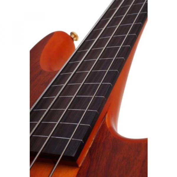 Schecter Stiletto Studio-4 Fretless Electric Bass (4 String, Honey Satin)