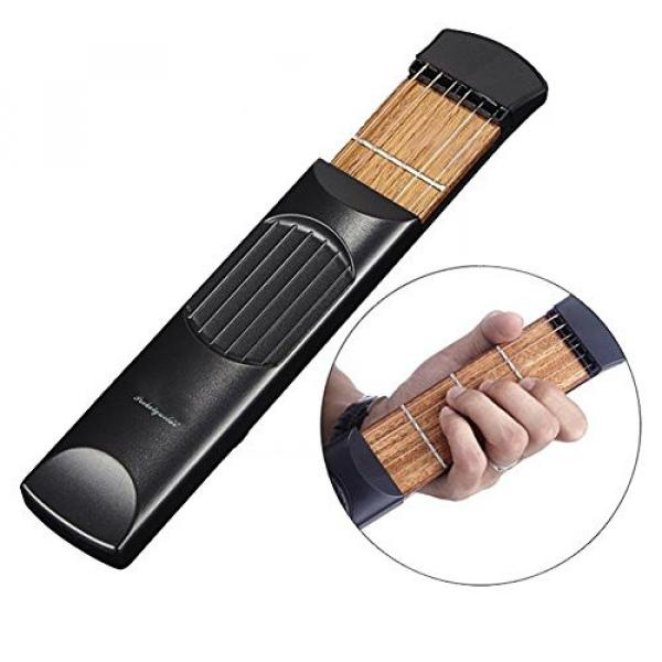 E Support™ Pocket Guitar Trainers Instrumentos Musicales Guitar Accessories Practice Portable Tool 4 Fret Strings Gadget for Beginner
