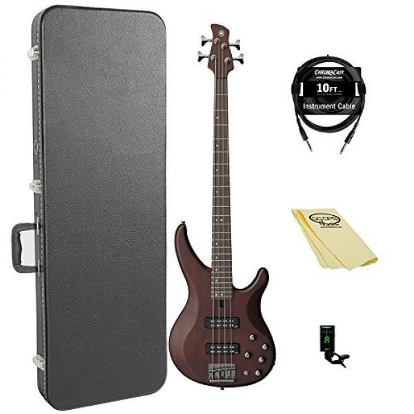 Yamaha TRBX504 TBN 4-String Bass Guitar Pack