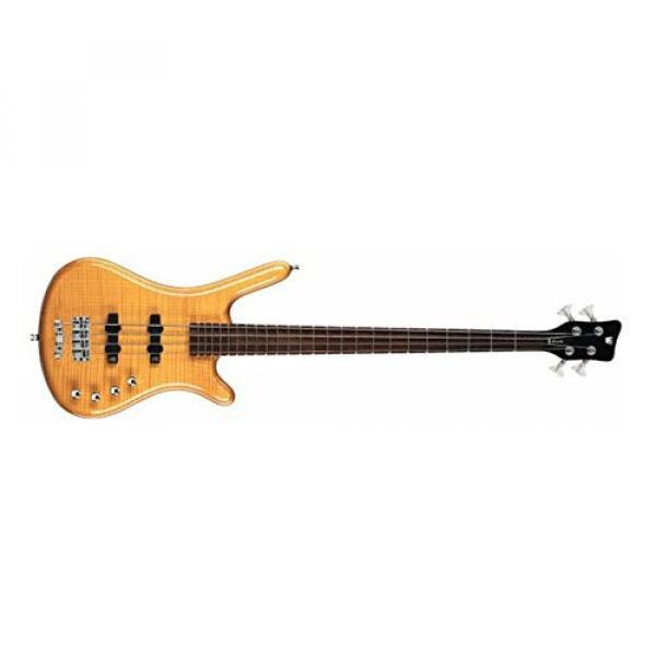 Warwick Rockbass Corvette Premium 4-String Electric Bass Guitar Natural