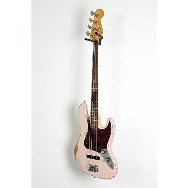 Fender Flea Signature Roadworn Jazz Bass Level 2 Shell Pink 888365985923