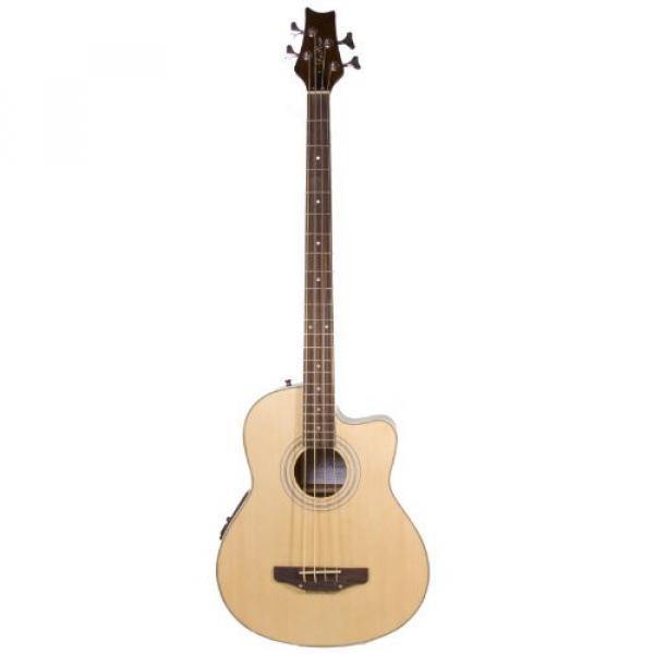 De Rosa Cutaway 4eq-natural Wood Bass