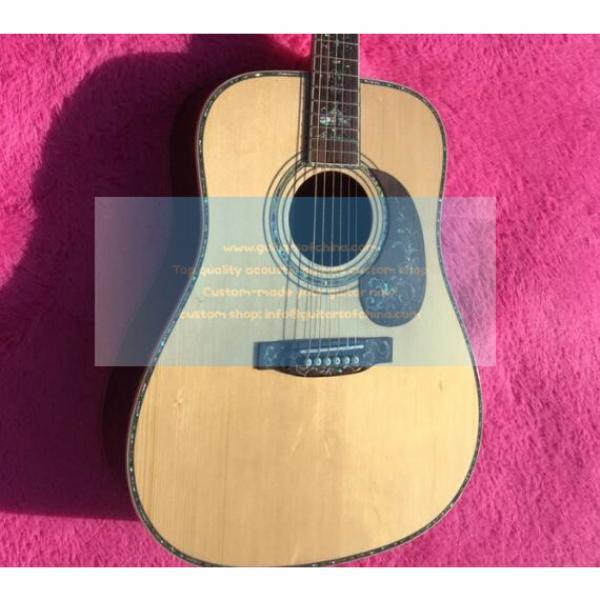 Custom Martin D 45 Luxury Abalone Inlays Guitar